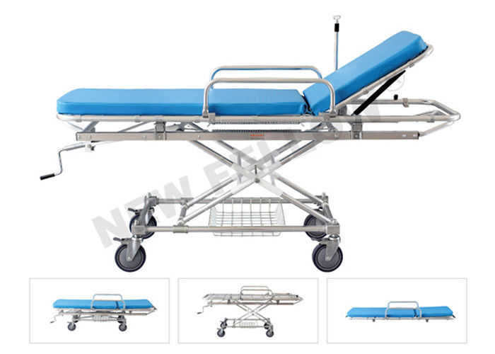 Detachable Hospital Patient Stretcher Trolley