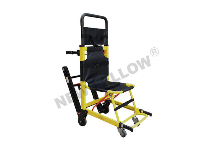 Heavy Duty Patient Transfer Stair Stretcher Climbing Wheelchair With Track