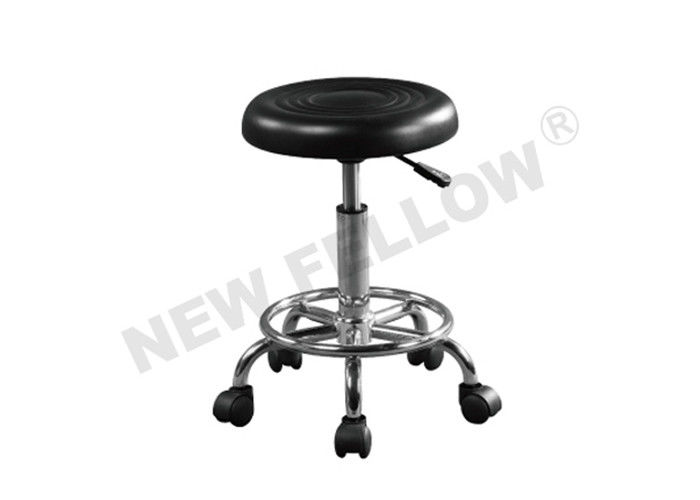 Adjustable Chromium coated Steel EVA Foam Mattress Medical Stool