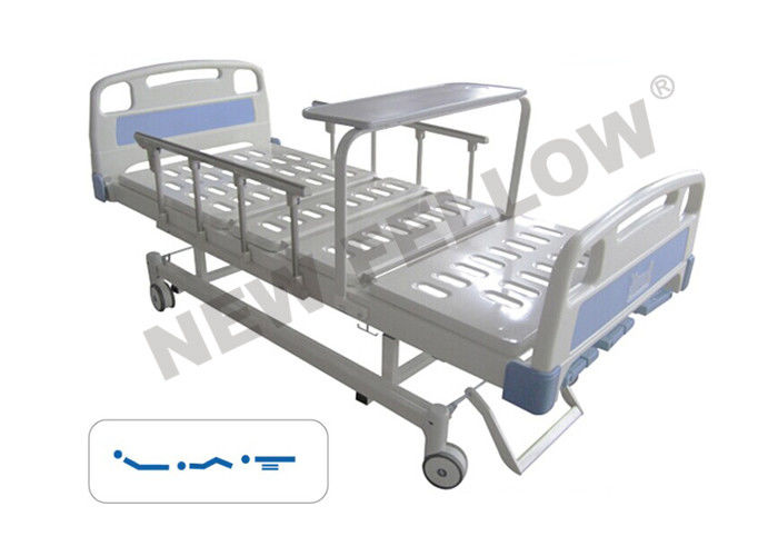 Adjustable Powder Coated Steel Medicare Hospital Bed With Side Rails
