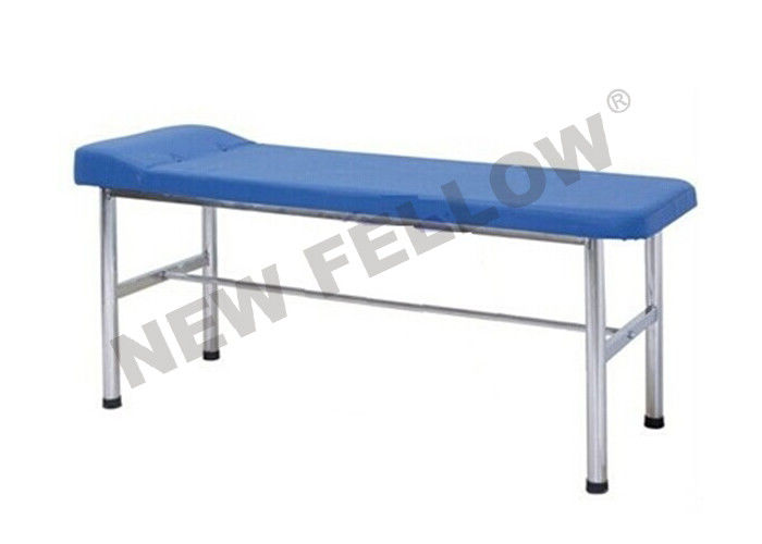 Flat Stainless Steel Medical Exam Tables Hospital Examination Bed With Paper Roll